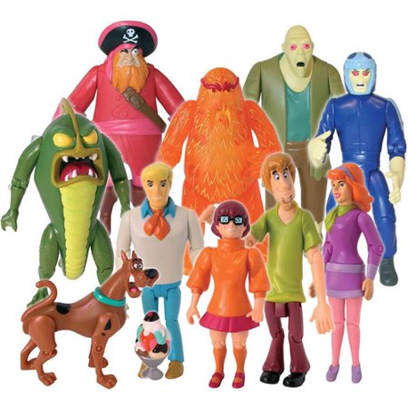 Scooby Doo Monster Set, 10-Figure Pack