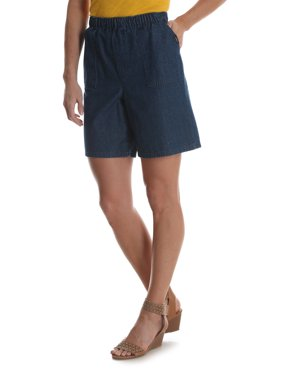 Women's Pull-On Utility Shorts with Elastic Waistband