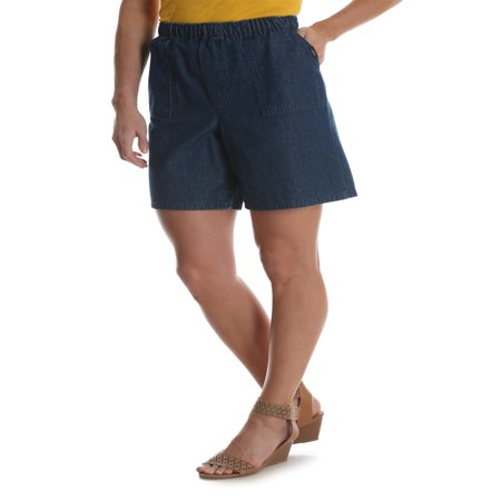 Ladies Bermuda Shorts - Chic Women's Pull On Utility Short