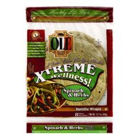 """OLE Mexican Foods Xtreme Wellness! Spinach & Herbs 8"""" Tortillas, 8 ct"""