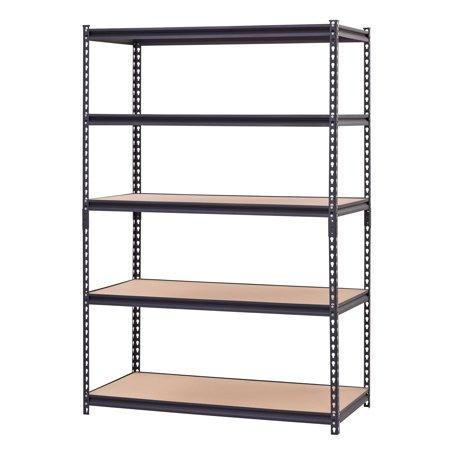 Muscle Rack 48 Quot W X 24 Quot D X 72 Quot H 5 Shelf Steel Shelving