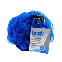 (3 pack) Body Benefits Mens Xl Shower Pouf (Color May Vary)