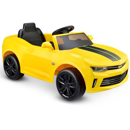 Kid Motorz Racing Camaro Rs One Seater In Yellow 6v Walmart