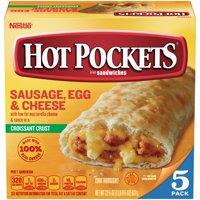 HOT POCKETS Sausage, Egg & Cheese Frozen Sandwiches 5 ct Box