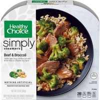 Healthy Choice Simply Steamers Frozen Dinner, Beef & Broccoli, 10 Ounce