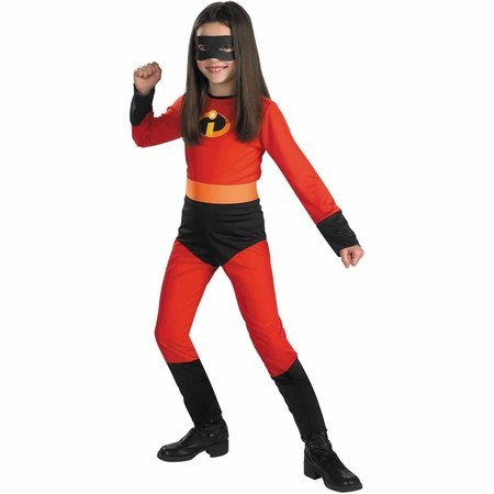 Incredibles Violet Child Halloween Costume (Pig Wearing Halloween Costume)