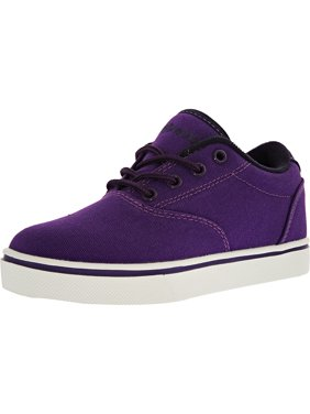 Heelys Launch Purple/Grape/White Ankle-High Fashion Sneaker - 5M