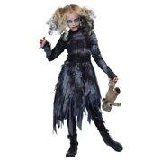 Zombie Cheerleader Halloween Costume For Girls.Zombie Cheerleader Costumes