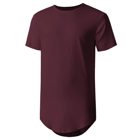 Men's Casual Longtail T-Shirts Hip Hop Urban