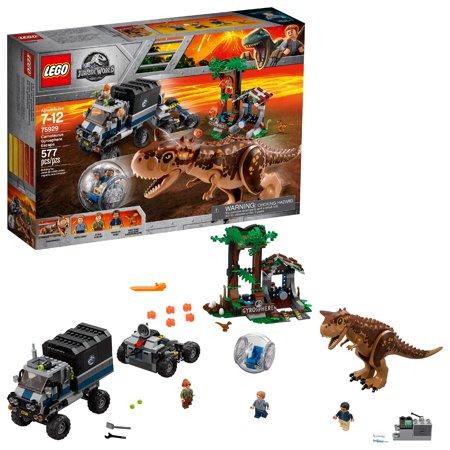 LEGO Jurassic World Carnotaurus Gyrosphere Escape (Lego Dinosaur)