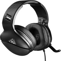 Turtle Beach Recon 200 Amplified Gaming Headset for Xbox One, PS4, PC, Mobile (Black)