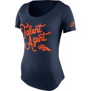 sale retailer a6993 d1122 Denver Broncos Nike Women s Talent Agent Tri-Blend T-Shirt - Navy Blue