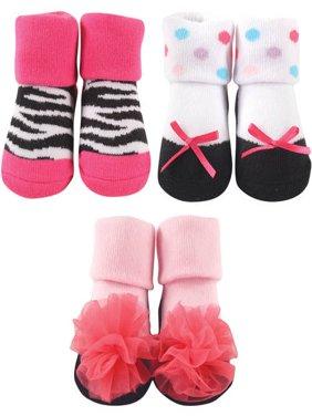 Baby Girl Socks Giftset, 3-Pack
