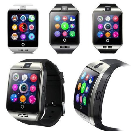 Tagital T18 Curved Screen Bluetooth Smart Watch Wrist Watch with Camera For Android iPhone Smart Phone Samsung, Sony, Huawei