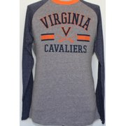 78616333 Virginia Cavaliers NCAA Cover 2 Long Sleeve Raglan Tri Blend Men's T-Shirt