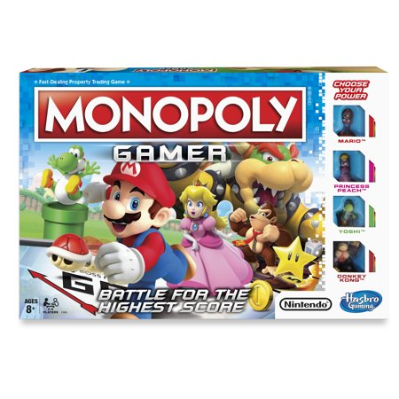 Monopoly Gamer Board-game, Ages 8 and up