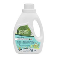 Seventh Generation Baby 2X Laundry Detergent, Free & Clear, 33 Loads