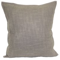 """Better Homes & Gardens Textured Solid Decorative Throw Pillow, 20"""" x 20"""", Taupe"""