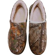 a679096d117d Realtree Mens Green   Brown Camo Loafers Slippers Camouflage Sherpa House  Shoes