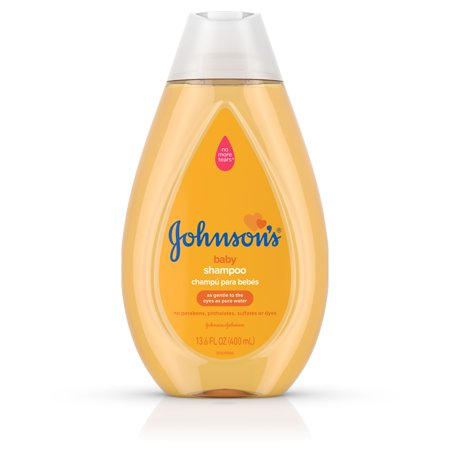 (2 Pack) Johnsonâs Baby Shampoo with Gentle Tear Free Formula, 13.6 fl. (Organics Baby Gentle Tear)
