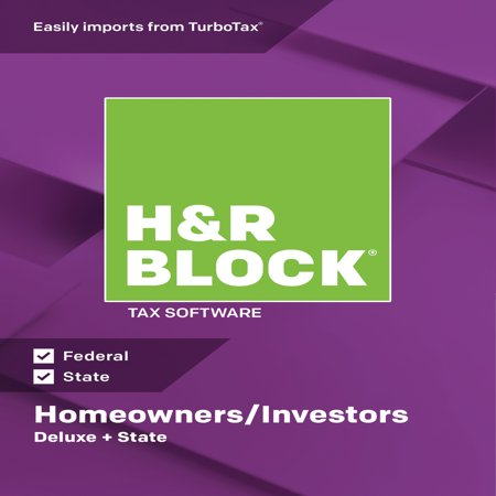 H&R Block Tax Software 2018 Deluxe + State Win (Email (Dmx Interface Software Lighting Pc)