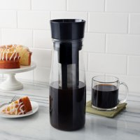 Copco Forty Ounce Borosilicate Glass Cold Brew Coffee Maker Black