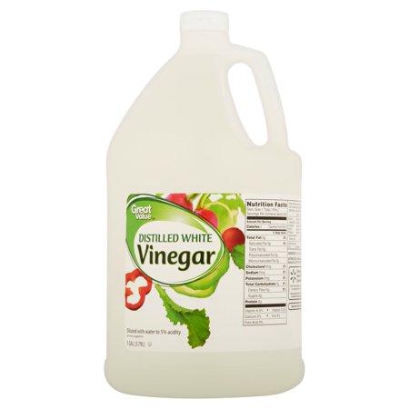 Alessi Vinegar - Great Value Distilled White Vinegar, 1 gal