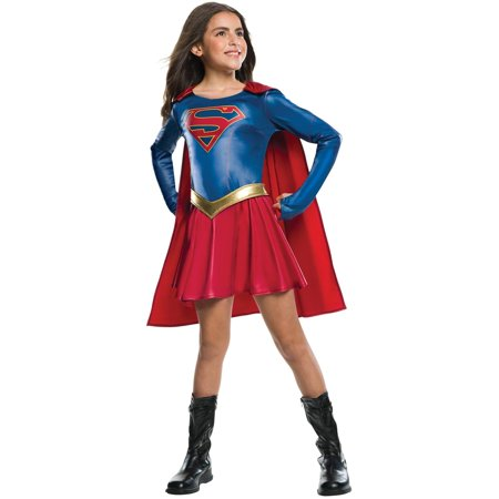 Supergirl Tv Show Girls Costume - Girl Super Villain Costumes