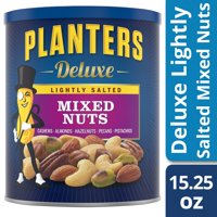 Planters Deluxe Lightly Salted Mixed Nuts 15.25 oz Canister