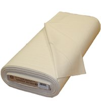 "Roc-lon 44/45"" 100% Cotton Heavy-Weight Permanent Press Unbleached Muslin, 15 yards per Bolt"