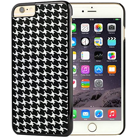 Ganma Houndstooth pattern Rubber Case For iPhone 8 PLUS (5.5 inch)