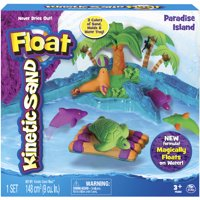 The One & Only Kinetic Sand Float Paradise Island Playset