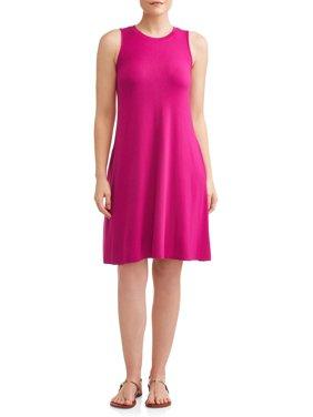 Women's Sleeveless Knit Dress