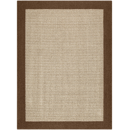 Mainstays Faux Sisal Tufted High Low Loop Area Rug or Runner, Multiple Sizes and Colors Brown Anti Fatigue Dry Area