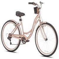 """Kent 26"""" Women's, Bayside Cruiser Bicycle, Rose Gold"""