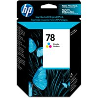 HP, HEWC6578DN, 78 Tri-color Ink Cartridge, 1 Each