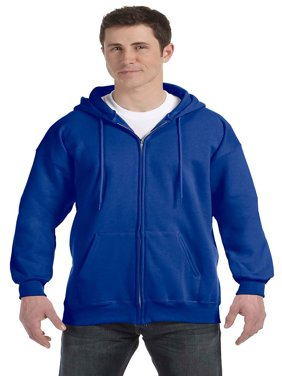 Hanes Men Ultimate Cotton Heavyweight Full Zip Hoodie, Style F280