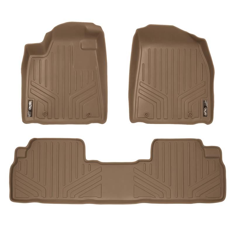 Interior Accessories Premier Custom Fit 4-Piece Set Carpet Floor Mats for Honda Accord Premium Nylon, Evergreen