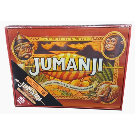 Deluxe Wood Jumanji - Classic Retro '90s Game