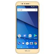 BLU Studio View XL S790Q 16GB Unlocked GSM Dual-SIM Android Phone w/ 13MP Camera - Gold