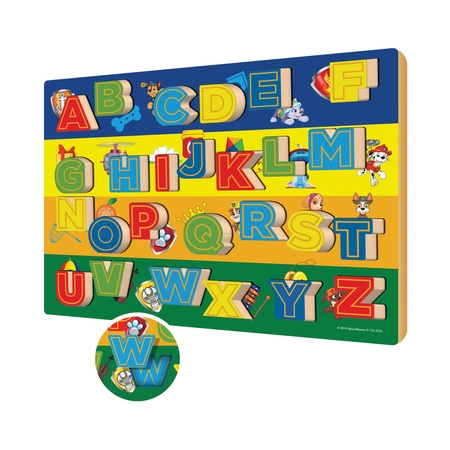 Wood Puzzle Toy - TCG Toys Paw Patrol 26 Piece Chunky ABC Wood Puzzle