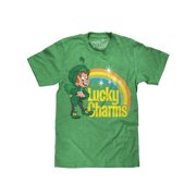 8914cea7045 Tee Luv Lucky Charms Cereal T-Shirt - Lucky The Leprechaun Graphic Tee