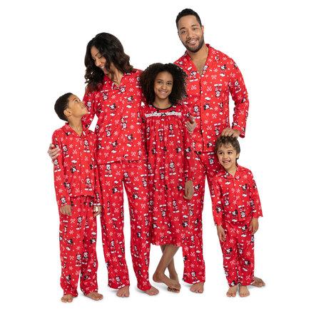 Mickey Mouse Christmas Holiday Family Sleepwear Unisex Baby Pajamas 21MK455YCL - Adams Family Baby