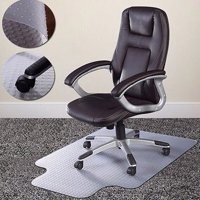 Zimtown Home Office Chair Mat for Carpet Floor Protection Under Executive Computer Desk