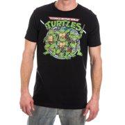 6c868d89a Teenage Mutant Ninja Turtles TMNT Men's Black T-Shirt Tee Shirt