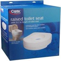 Newell Rubbermaid Carex  Raised Toilet Seat, 1 ea