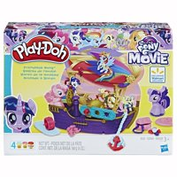 Play-Doh My Little Pony Friendship Ahoy Set with 4 Cans of Dough