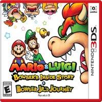 Mario & Luigi: Bowser's Inside Story + Bowser Jr's Journey, Nintendo, Nintendo 3DS, 045496745042