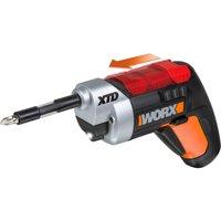 WORX XTD 4-Volt Lithium-Ion Extended Reach Cordless Screwdriver, WX252L