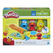 Play-Doh Sesame Street Shape 'n Play Friends with 4 Cans of Dough